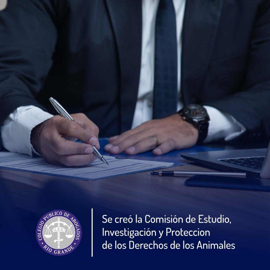 Cómision protección de los derechos de los animales