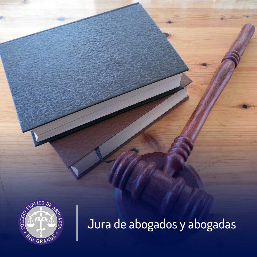 Jura de abogados y abogadas