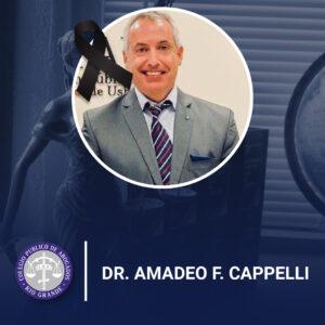 Cambiar fallecimiento Dr Cappelli