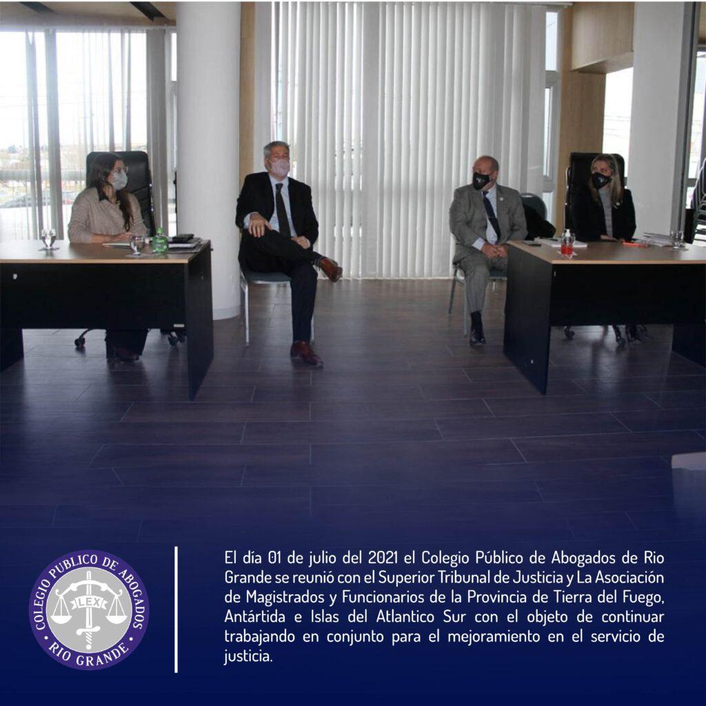 reunion con justicia y comision